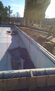 Repair Work At Adams Pool