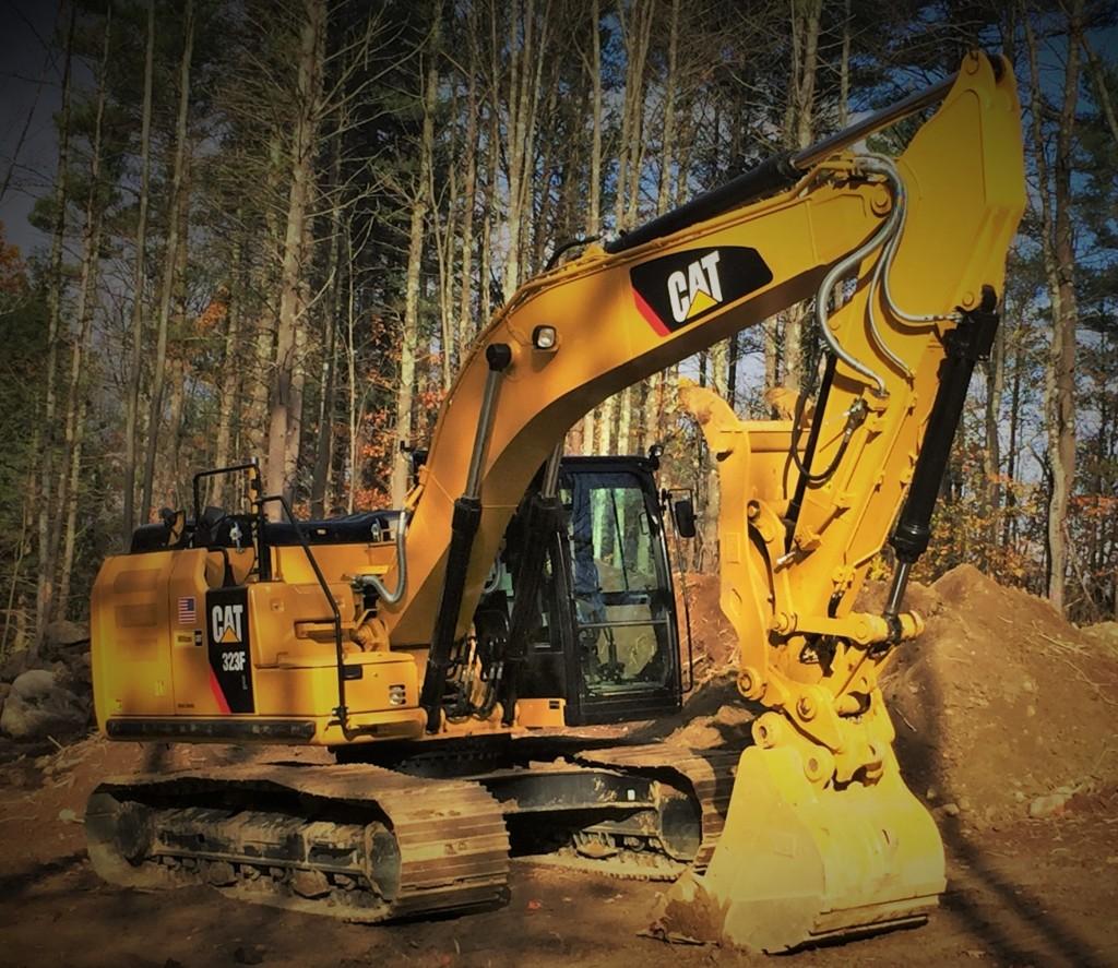 CAT 353F Excavator